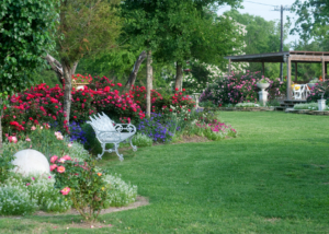 romantic garden destination texas