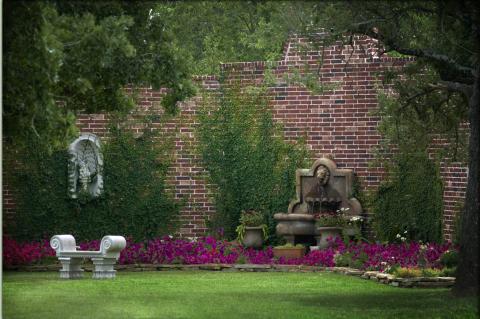 garden wedding venue near college station