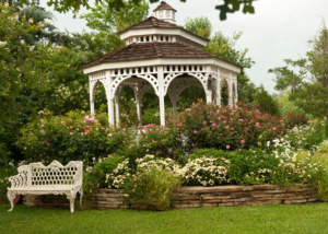 Garden Gazebo Outdoor Wedding Venue