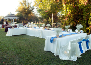 Local Garden Wedding Reception Venue