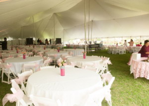 Garden Wedding Reception Central Texas