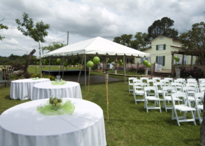 Garden Wedding Ceremony Reception Texas