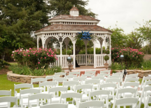 Lush Ceremony Garden Wedding