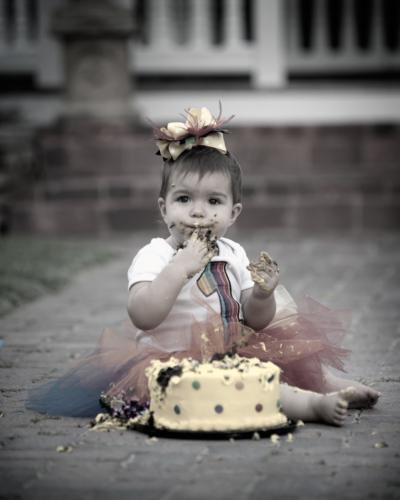 cake smash baby photographer