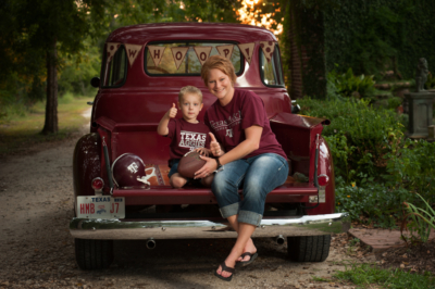 aggie family portraits